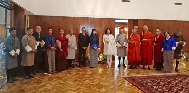 Indian Embassy in Thimphu celebrates the first sermon of Lord Buddha