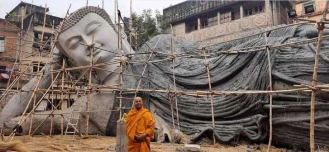 India's largest reclining Buddha statue to be installed in Bodh Gaya