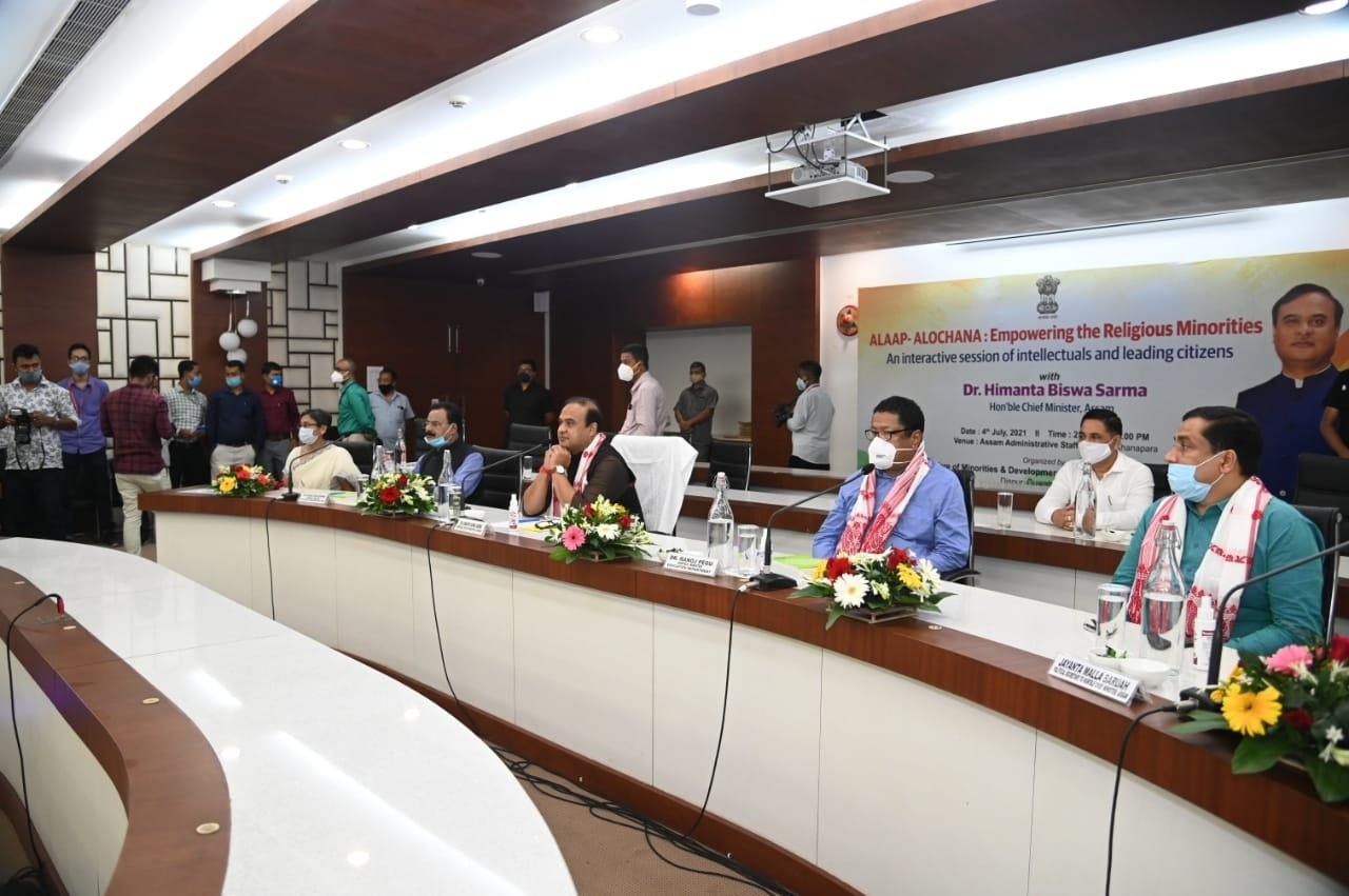 Assam CM calls leaders of