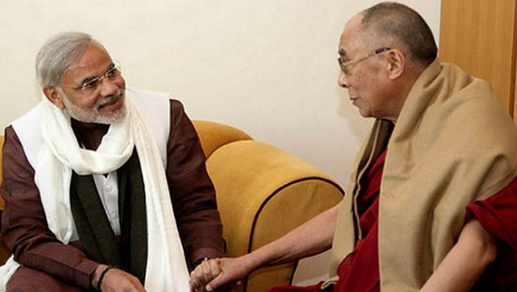 PM Modi calls Dalai Lama,