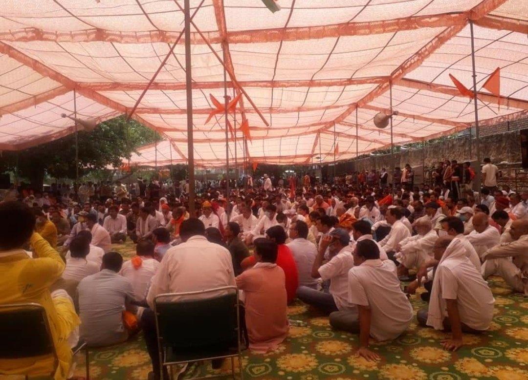 Hindu residents organize