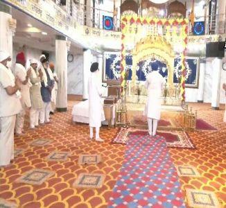 'Sukran ki Ardaas' offered after safe arrival of 3 Swaroops of Guru Granth Sahib from Afghanistan