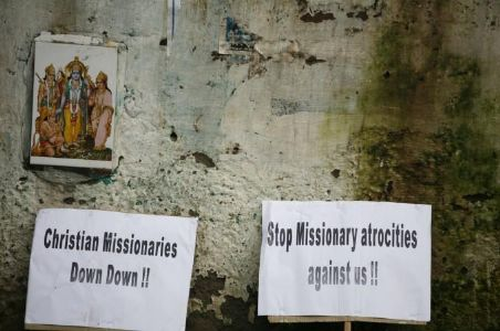 Case filed against a missionary for forced conversion attempt