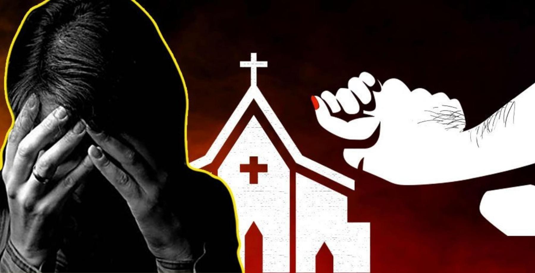 Police arrest a Christian